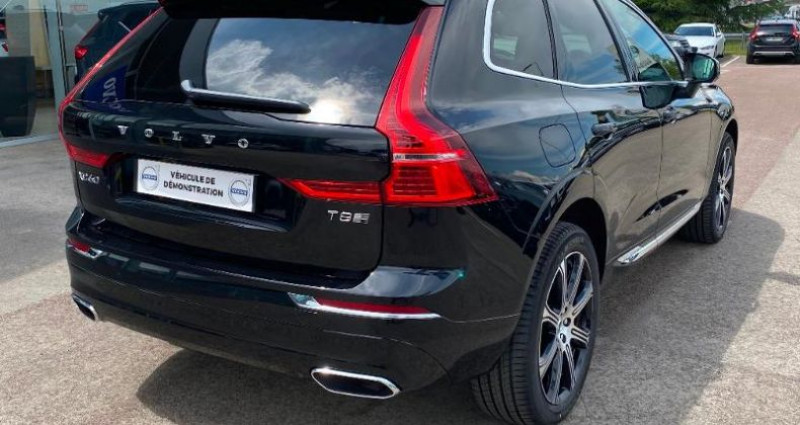 Volvo XC60 T8 Twin Engine 303 + 87ch Inscription Luxe Geartronic Noir occasion à BARBEREY SAINT SULPICE - photo n°4