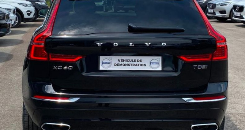 Volvo XC60 T8 Twin Engine 303 + 87ch Inscription Luxe Geartronic Noir occasion à BARBEREY SAINT SULPICE - photo n°5