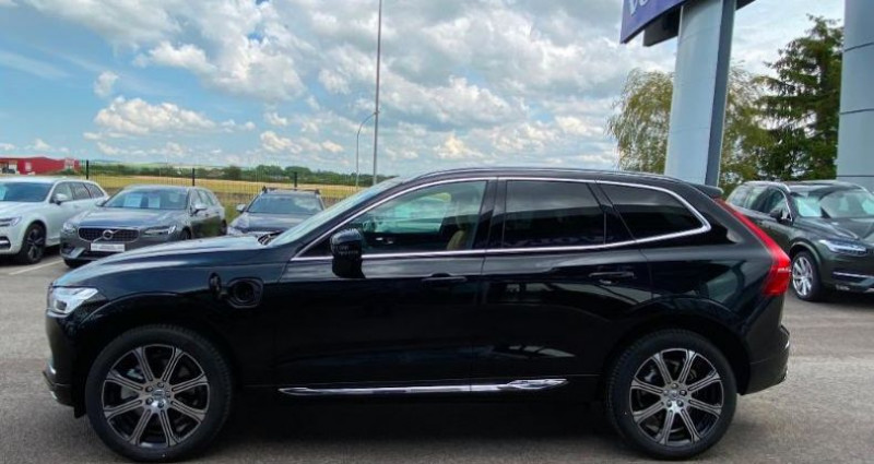 Volvo XC60 T8 Twin Engine 303 + 87ch Inscription Luxe Geartronic Noir occasion à BARBEREY SAINT SULPICE - photo n°7