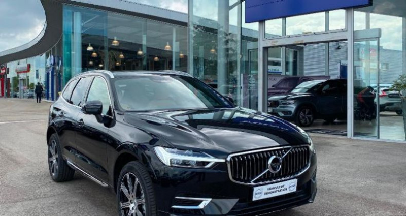 Volvo XC60 T8 Twin Engine 303 + 87ch Inscription Luxe Geartronic Noir occasion à BARBEREY SAINT SULPICE