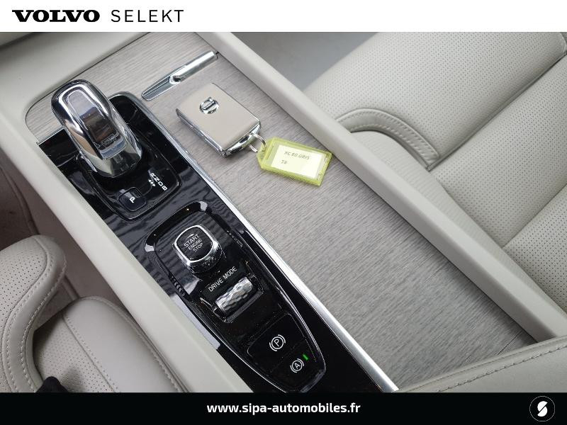 Volvo XC60 T8 Twin Engine 303 + 87ch Inscription Luxe Geartronic Vert occasion à Lescar - photo n°11