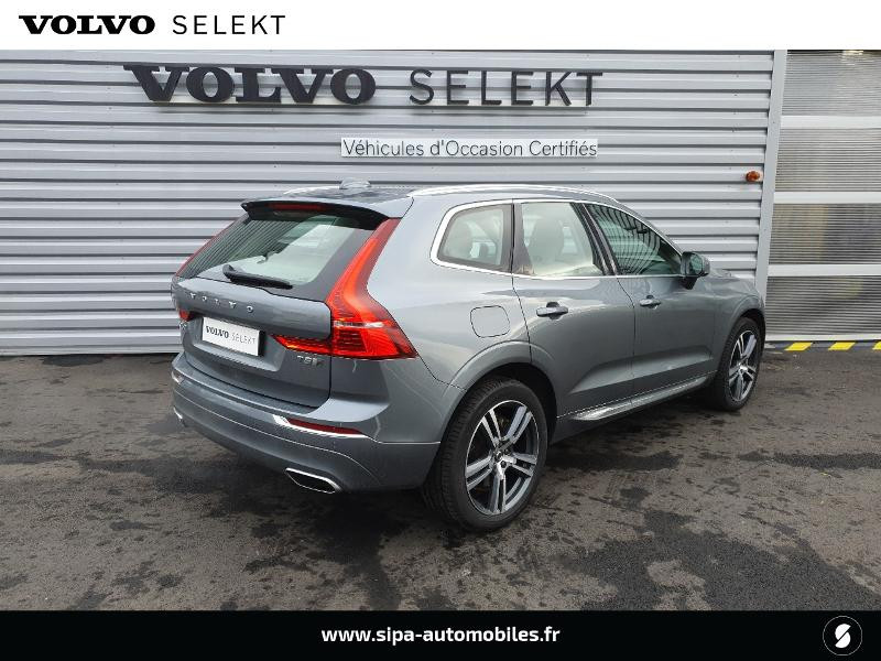 Volvo XC60 T8 Twin Engine 303 + 87ch Inscription Luxe Geartronic Vert occasion à Lescar - photo n°3