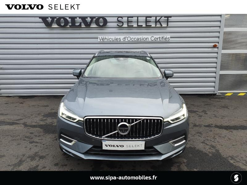 Volvo XC60 T8 Twin Engine 303 + 87ch Inscription Luxe Geartronic Vert occasion à Lescar - photo n°4