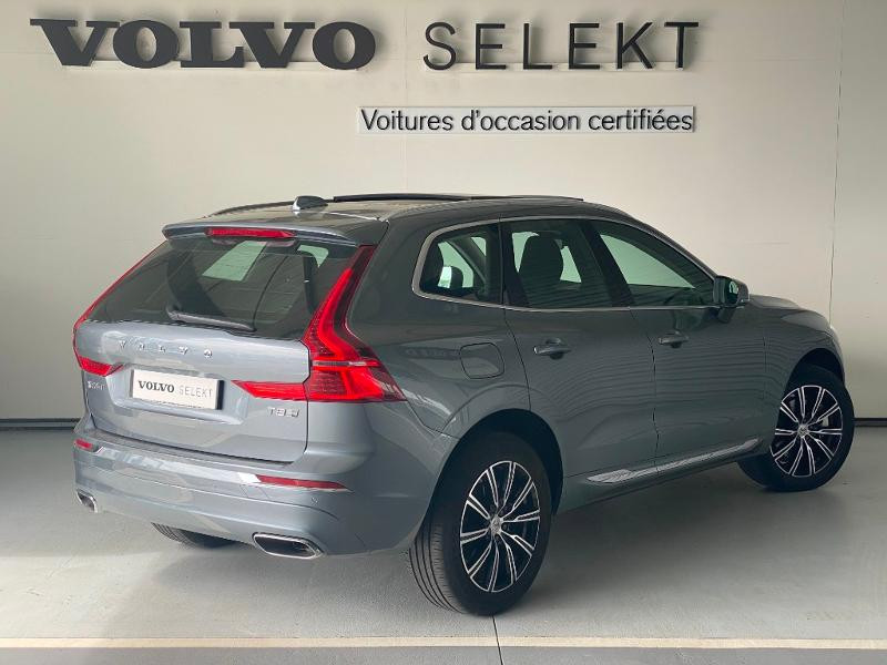 Volvo XC60 T8 Twin Engine 303 + 87ch Inscription Luxe Geartronic Gris occasion à Labège - photo n°4