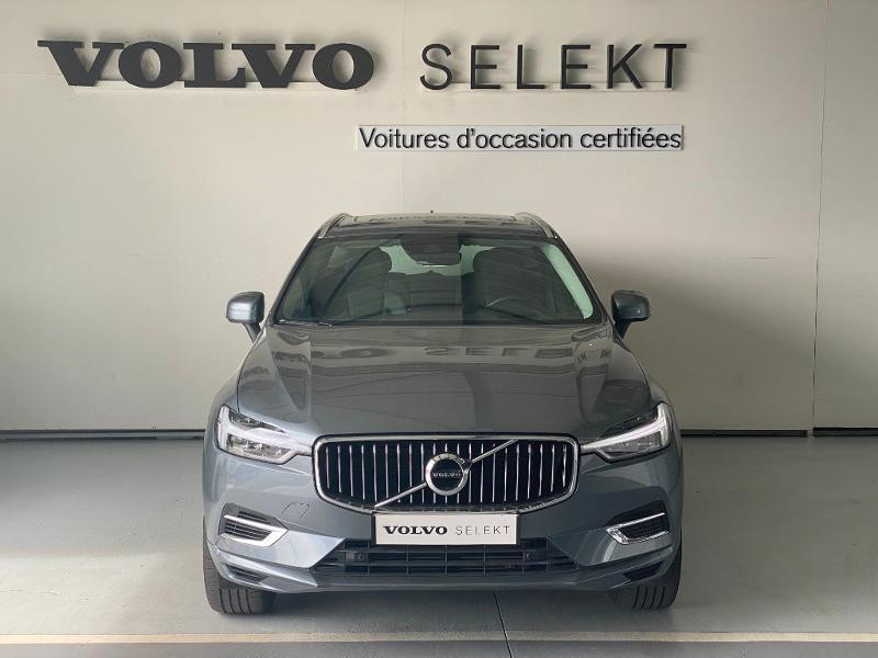 Volvo XC60 T8 Twin Engine 303 + 87ch Inscription Luxe Geartronic Gris occasion à Labège - photo n°2