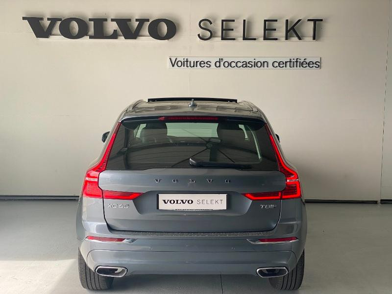 Volvo XC60 T8 Twin Engine 303 + 87ch Inscription Luxe Geartronic Gris occasion à Labège - photo n°5