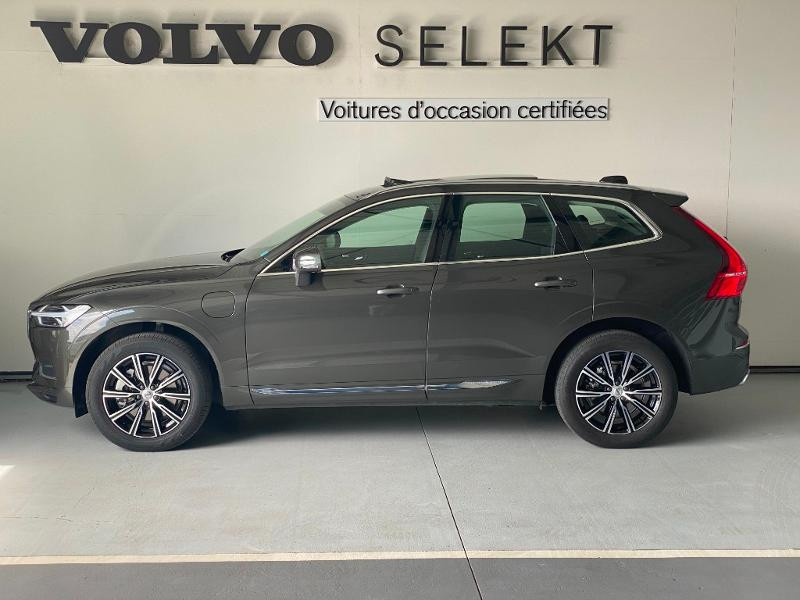 Volvo XC60 T8 Twin Engine 303 + 87ch Inscription Luxe Geartronic Gris occasion à Labège - photo n°3