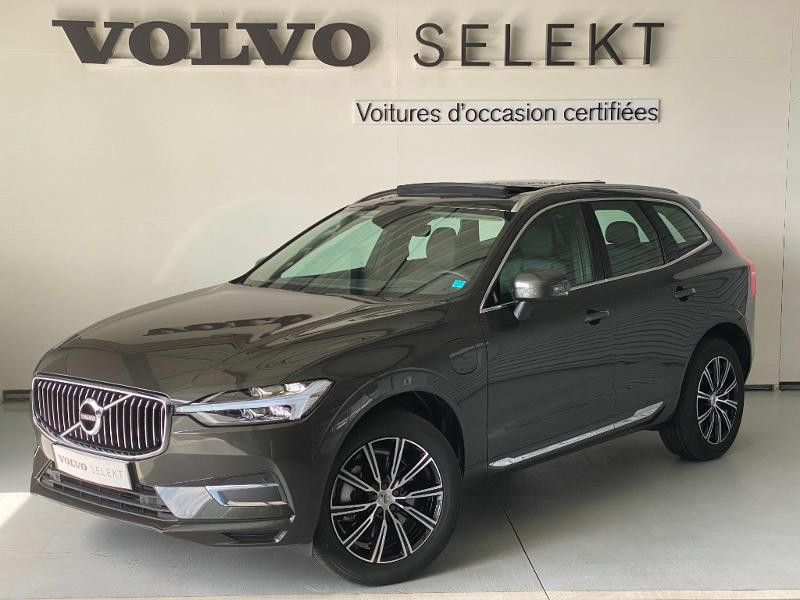 Volvo XC60 T8 Twin Engine 303 + 87ch Inscription Luxe Geartronic Gris occasion à Labège