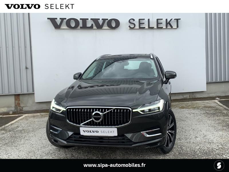 Volvo XC60 T8 Twin Engine 303 + 87ch Inscription Luxe Geartronic Gris occasion à Lormont