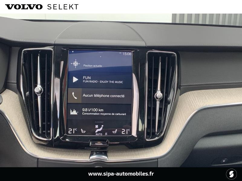 Volvo XC60 T8 Twin Engine 303 + 87ch Inscription Luxe Geartronic Gris occasion à Lormont - photo n°10