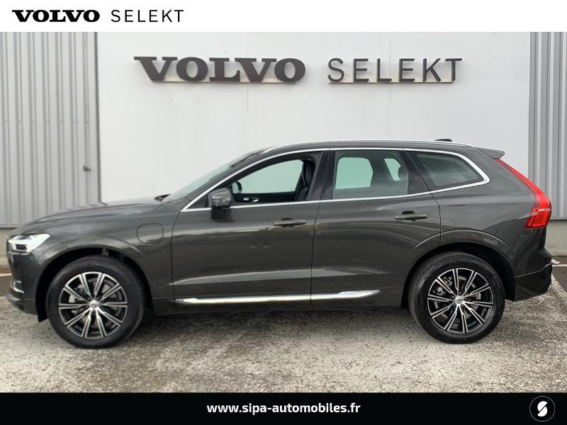 Volvo XC60 T8 Twin Engine 303 + 87ch Inscription Luxe Geartronic Gris occasion à Lormont - photo n°2