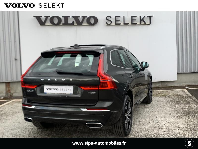 Volvo XC60 T8 Twin Engine 303 + 87ch Inscription Luxe Geartronic Gris occasion à Lormont - photo n°3