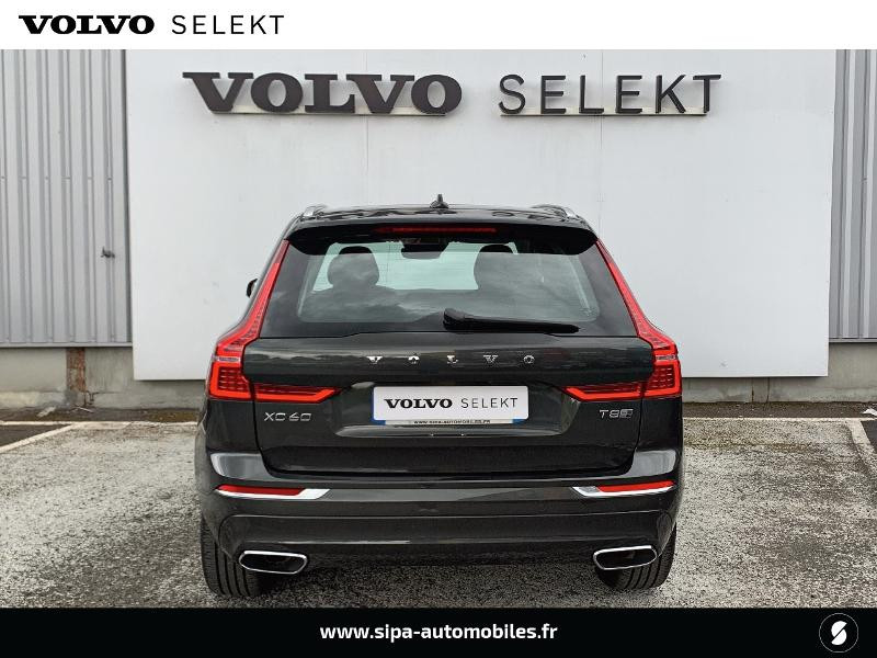 Volvo XC60 T8 Twin Engine 303 + 87ch Inscription Luxe Geartronic Gris occasion à Lormont - photo n°5