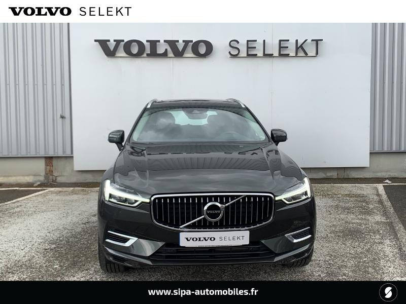 Volvo XC60 T8 Twin Engine 303 + 87ch Inscription Luxe Geartronic Gris occasion à Lormont - photo n°4