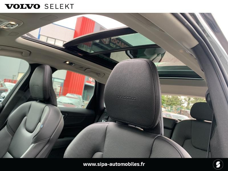 Volvo XC60 T8 Twin Engine 303 + 87ch Inscription Luxe Geartronic Gris occasion à Lormont - photo n°11