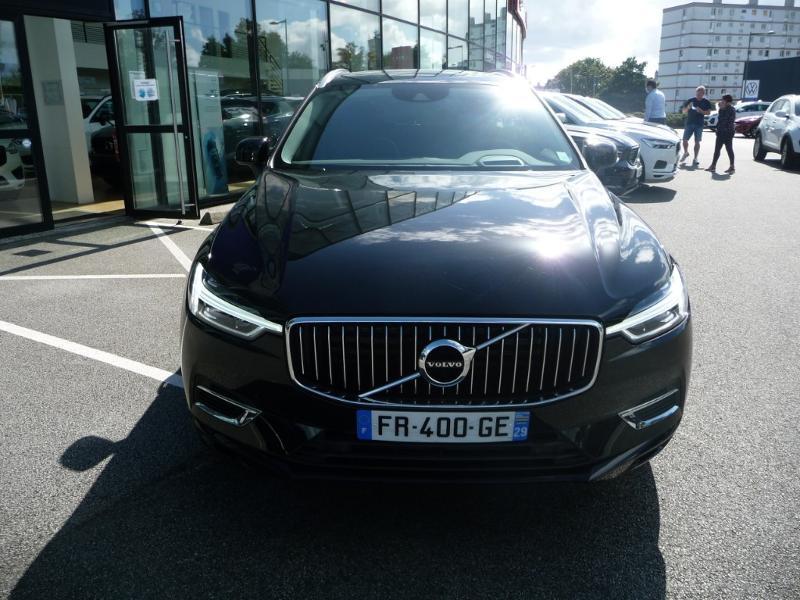 Volvo XC60 T8 Twin Engine 303 + 87ch Inscription Luxe Geartronic Noir occasion à Brest - photo n°3