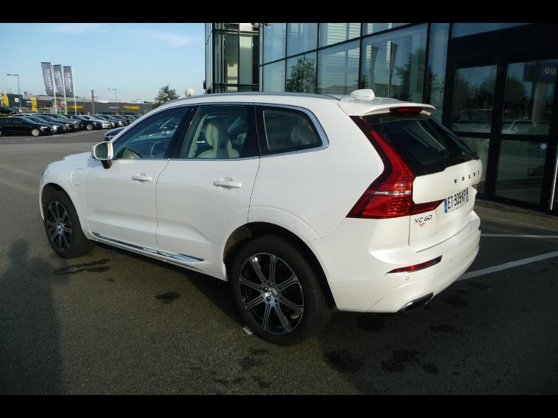 Volvo XC60 T8 Twin Engine 320 + 87ch Inscription Luxe Geartronic Blanc occasion à Brest - photo n°6