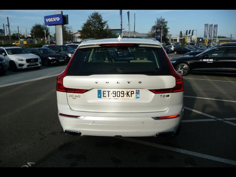 Volvo XC60 T8 Twin Engine 320 + 87ch Inscription Luxe Geartronic Blanc occasion à Brest - photo n°7