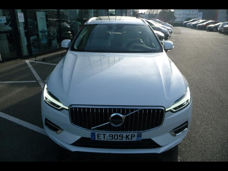 Volvo XC60 T8 Twin Engine 320 + 87ch Inscription Luxe Geartronic Blanc occasion à Brest - photo n°4