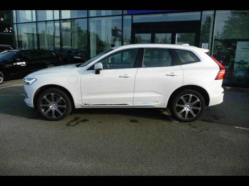 Volvo XC60 T8 Twin Engine 320 + 87ch Inscription Luxe Geartronic Blanc occasion à Brest - photo n°5