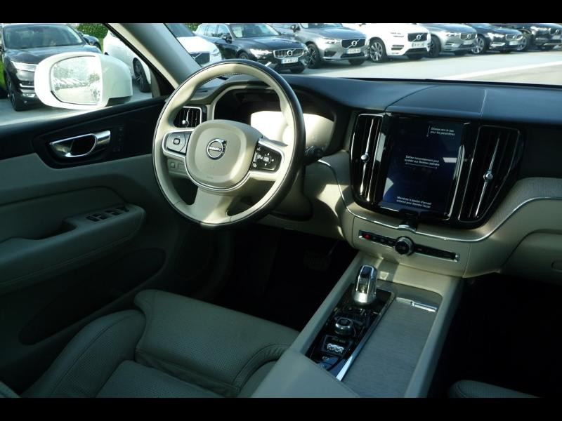Volvo XC60 T8 Twin Engine 320 + 87ch Inscription Luxe Geartronic Blanc occasion à Brest - photo n°2