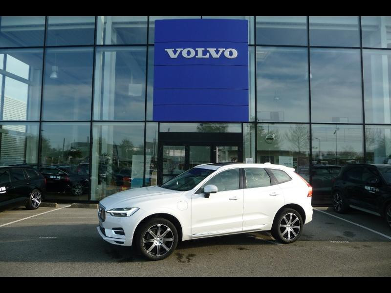 Volvo XC60 T8 Twin Engine 320 + 87ch Inscription Luxe Geartronic Blanc occasion à Brest
