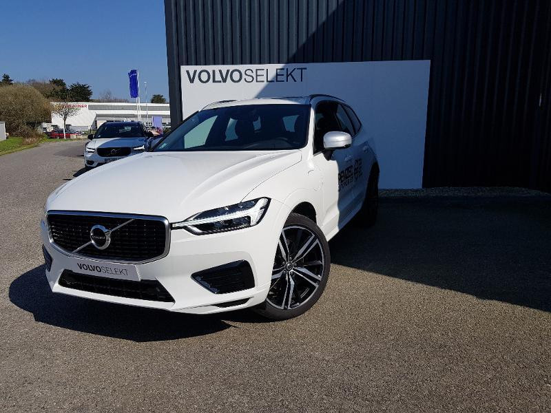 Volvo XC60 T8 Twin Engine 320 + 87ch R-Design Geartronic Blanc occasion à Redon