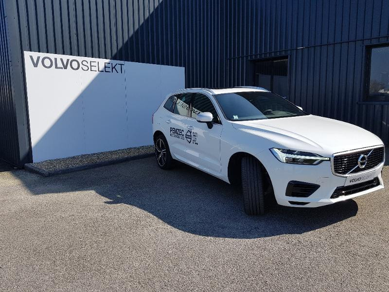 Volvo XC60 T8 Twin Engine 320 + 87ch R-Design Geartronic Blanc occasion à Redon - photo n°2
