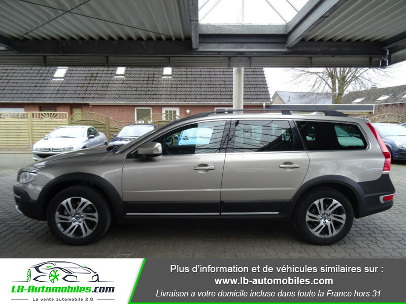 Volvo XC70 D5 215 ch AWD Gris occasion à Beaupuy - photo n°5