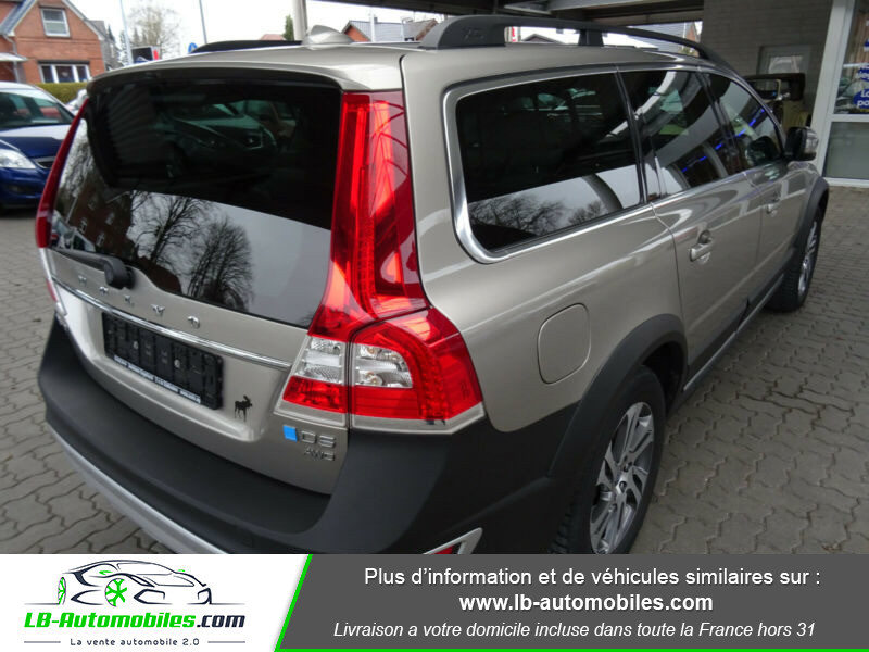 Volvo XC70 D5 215 ch AWD Gris occasion à Beaupuy - photo n°3