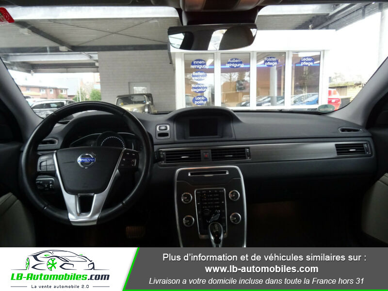 Volvo XC70 D5 215 ch AWD Gris occasion à Beaupuy - photo n°2