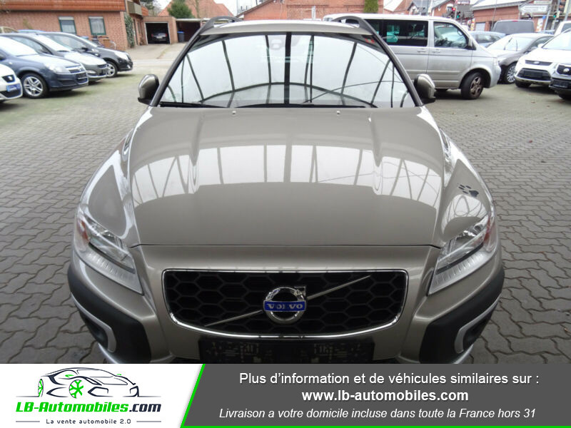 Volvo XC70 D5 215 ch AWD Gris occasion à Beaupuy - photo n°4