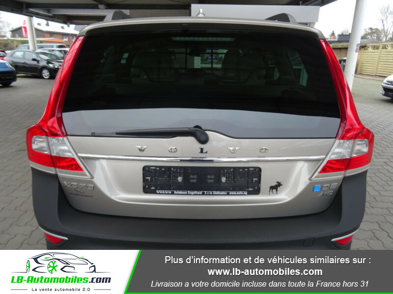 Volvo XC70 D5 215 ch AWD Gris occasion à Beaupuy - photo n°6