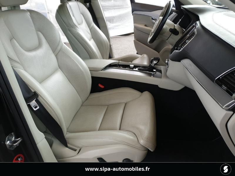 Volvo XC90 D5 AWD 225ch Inscription Luxe Geartronic 7 places Bleu occasion à Mérignac - photo n°13