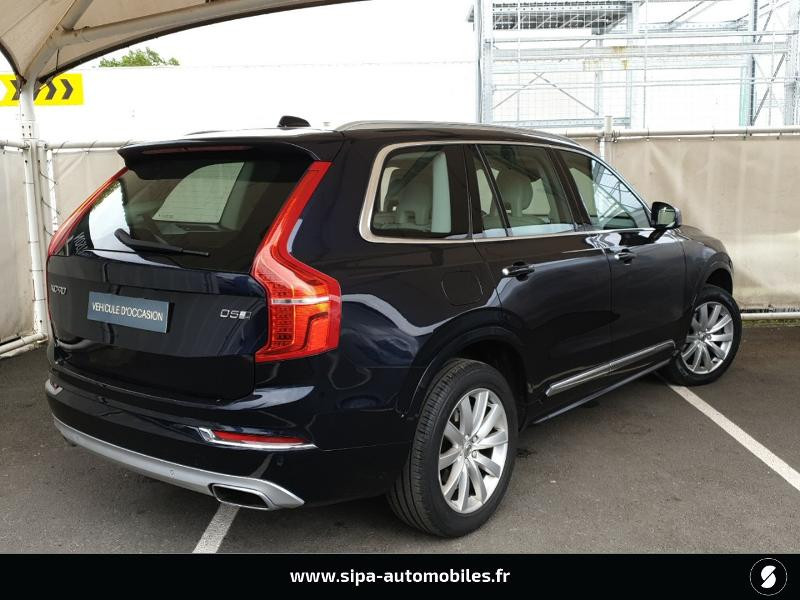 Volvo XC90 D5 AWD 225ch Inscription Luxe Geartronic 7 places Bleu occasion à Mérignac - photo n°2