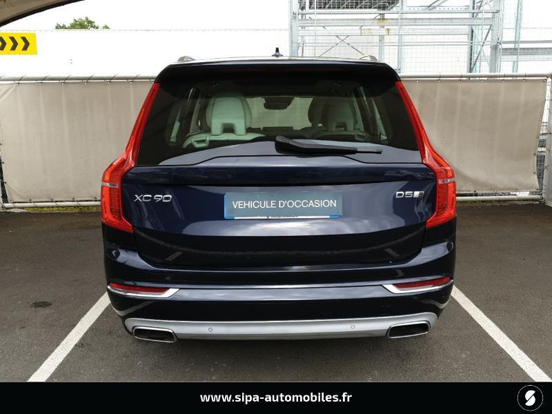 Volvo XC90 D5 AWD 225ch Inscription Luxe Geartronic 7 places Bleu occasion à Mérignac - photo n°9