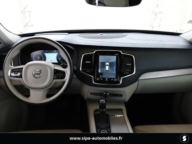 Volvo XC90 D5 AWD 225ch Inscription Luxe Geartronic 7 places Bleu occasion à Mérignac - photo n°3