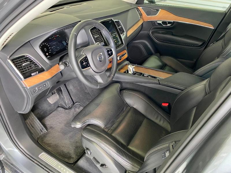 Volvo XC90 T8 Twin Engine 303 + 87ch Inscription Luxe Geartronic 7 plac Gris occasion à Labège - photo n°6