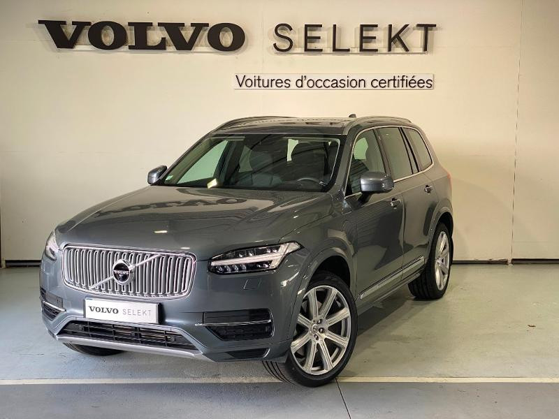 Volvo XC90 T8 Twin Engine 303 + 87ch Inscription Luxe Geartronic 7 plac Gris occasion à Labège