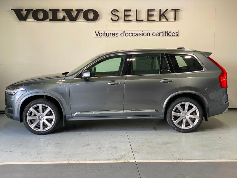 Volvo XC90 T8 Twin Engine 303 + 87ch Inscription Luxe Geartronic 7 plac Gris occasion à Labège - photo n°3