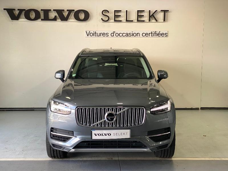 Volvo XC90 T8 Twin Engine 303 + 87ch Inscription Luxe Geartronic 7 plac Gris occasion à Labège - photo n°2