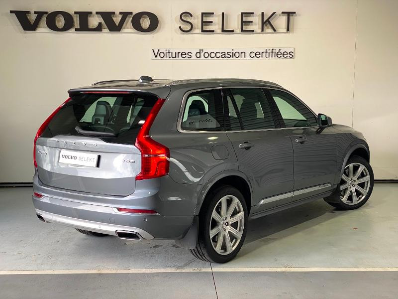 Volvo XC90 T8 Twin Engine 303 + 87ch Inscription Luxe Geartronic 7 plac Gris occasion à Labège - photo n°4