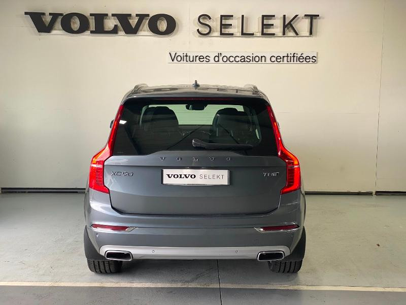 Volvo XC90 T8 Twin Engine 303 + 87ch Inscription Luxe Geartronic 7 plac Gris occasion à Labège - photo n°5