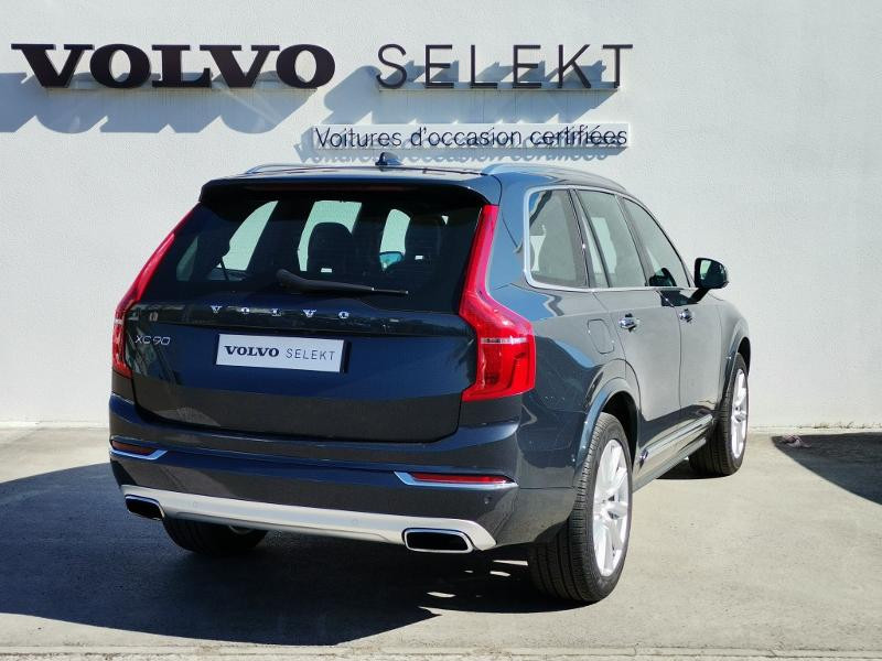Volvo XC90 T8 Twin Engine 320 + 87ch Inscription Luxe Geartronic 7 plac Gris occasion à Auxerre - photo n°5