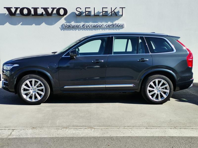 Volvo XC90 T8 Twin Engine 320 + 87ch Inscription Luxe Geartronic 7 plac Gris occasion à Auxerre - photo n°2