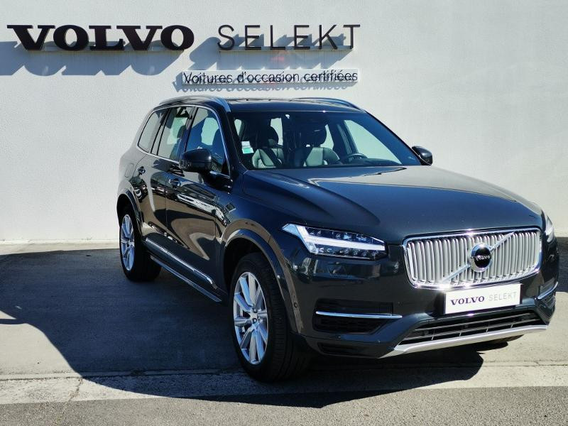 Volvo XC90 T8 Twin Engine 320 + 87ch Inscription Luxe Geartronic 7 plac Gris occasion à Auxerre - photo n°7