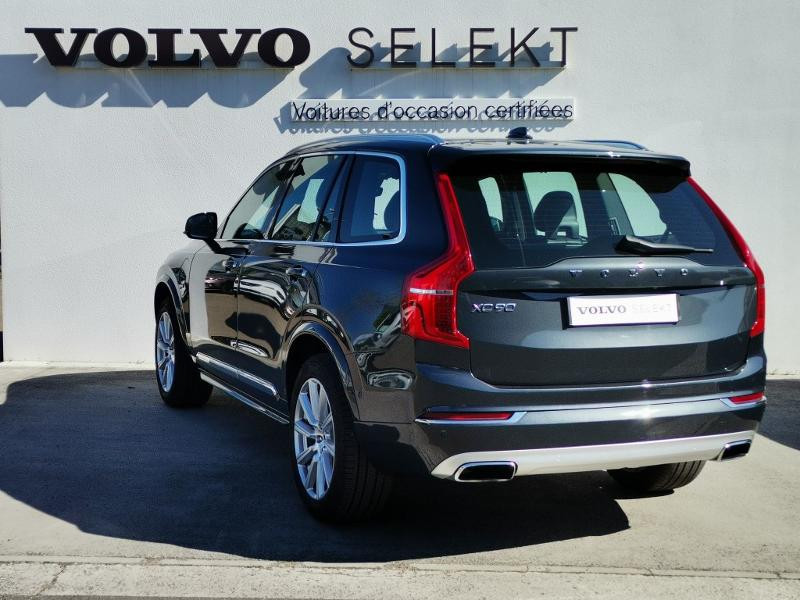 Volvo XC90 T8 Twin Engine 320 + 87ch Inscription Luxe Geartronic 7 plac Gris occasion à Auxerre - photo n°3