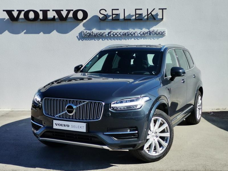 Volvo XC90 T8 Twin Engine 320 + 87ch Inscription Luxe Geartronic 7 plac Gris occasion à Auxerre