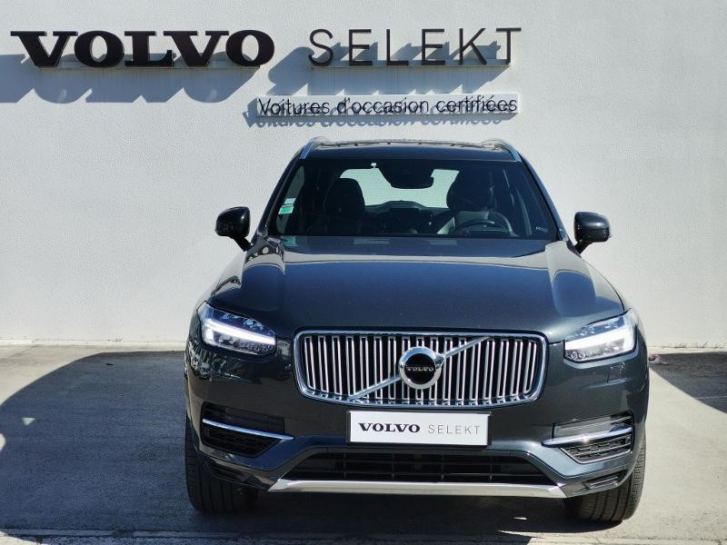 Volvo XC90 T8 Twin Engine 320 + 87ch Inscription Luxe Geartronic 7 plac Gris occasion à Auxerre - photo n°8